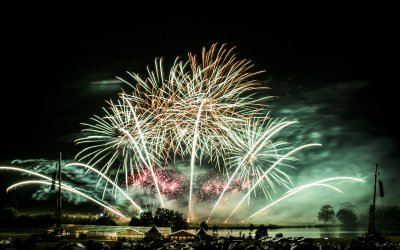 Belvoir Hosts Firework Competition