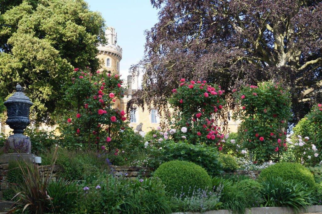 The gardens at Belvoir Castle