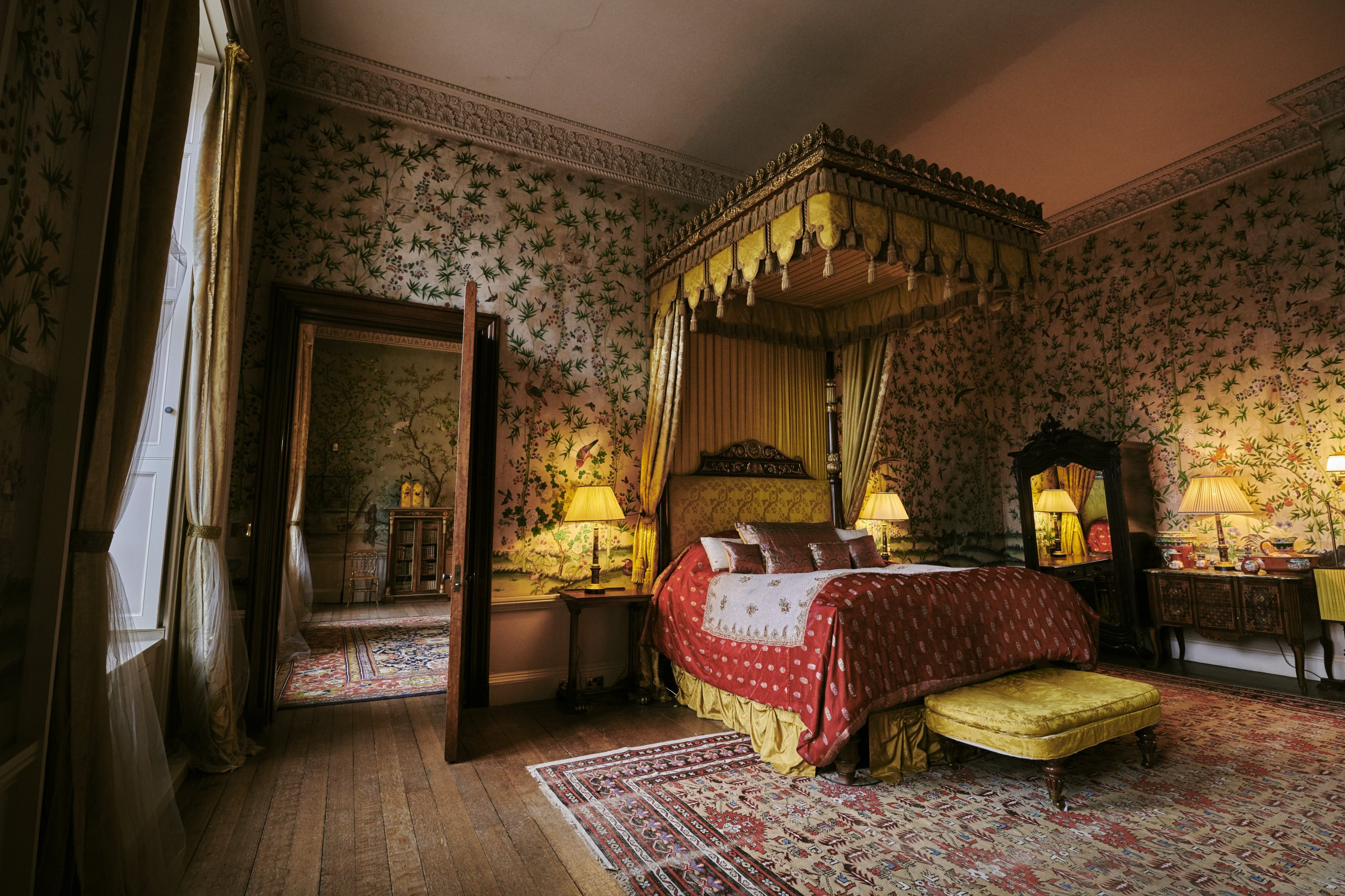 The Kings Suite at Belvoir Castle