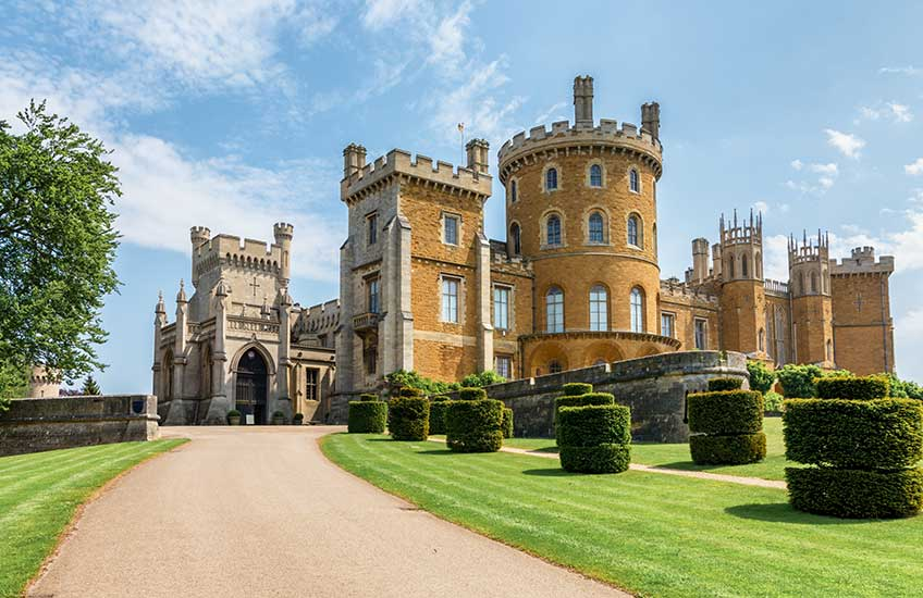 Belvoir Castle with Afternoon Cream Tea