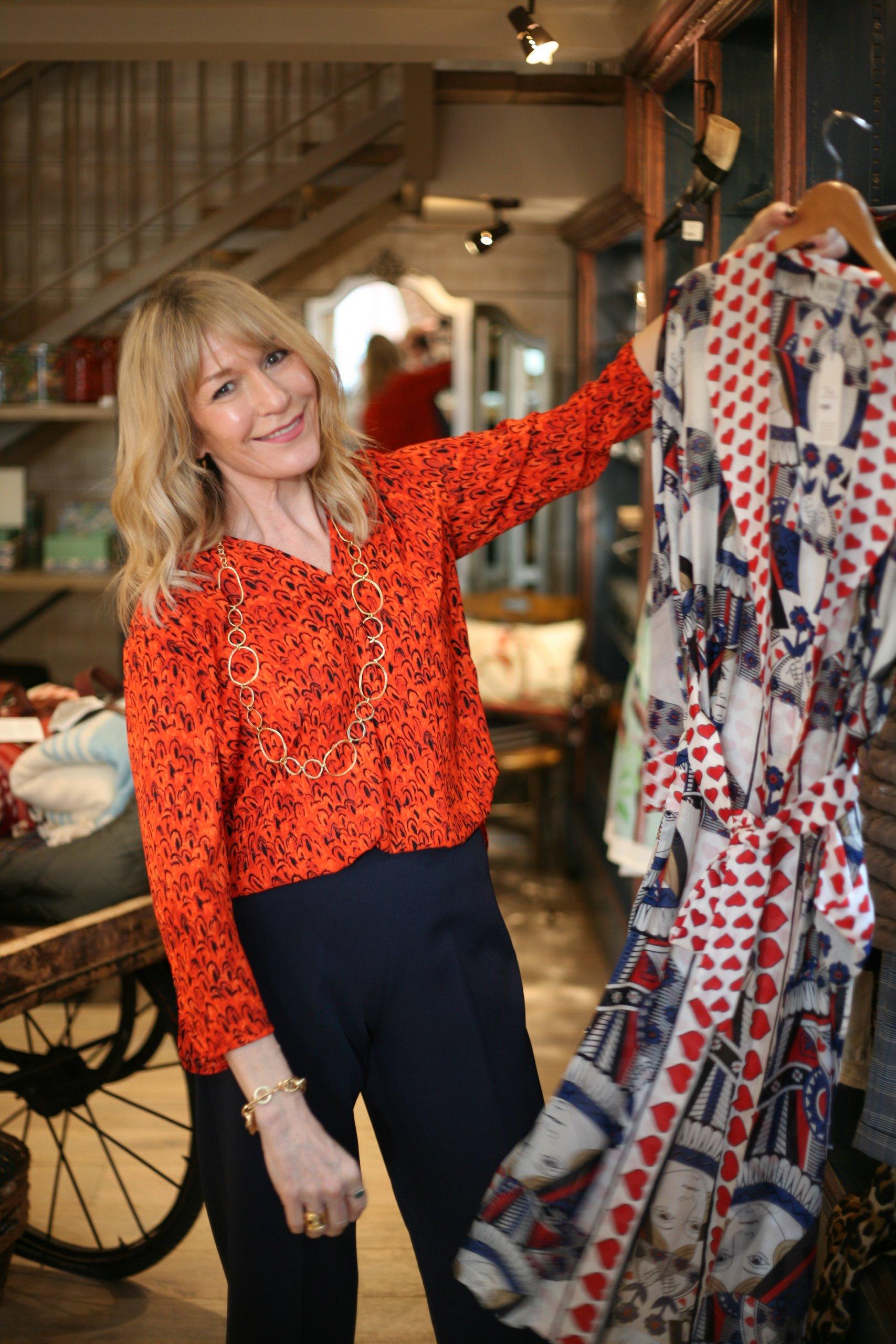 Stylist Lynn Deard in The Duchess Gallery