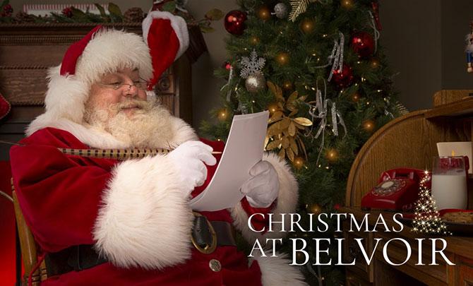 Father Christmas at Belvoir Castle